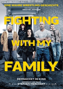 Filmposter: Fighting with my Family